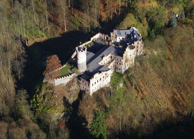 Hauenštejn - Horní hrad