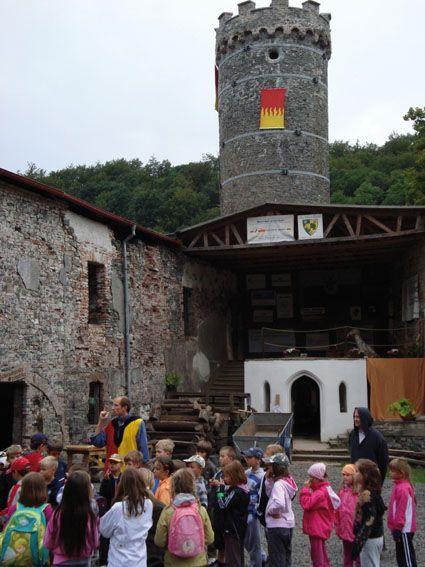 Hauenštejn - Horní Hrad - Školní výlet