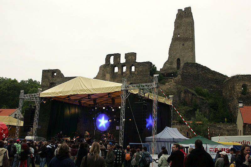 Hrad Okoř - Open air festival Okoř se šťávou
