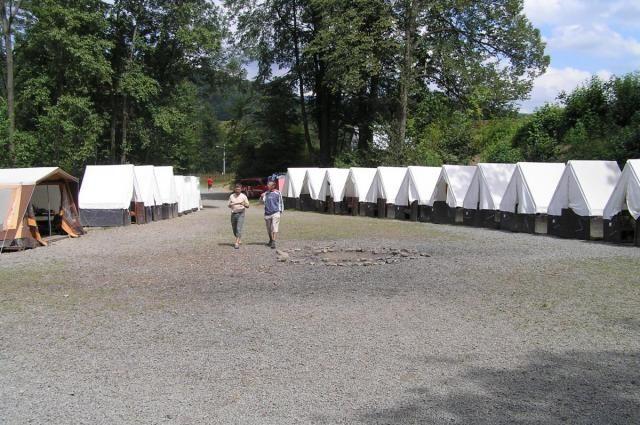 Stanová táborová základna Vigantice