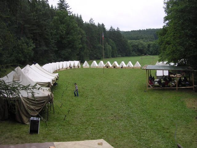 Táborová základna Kolčava