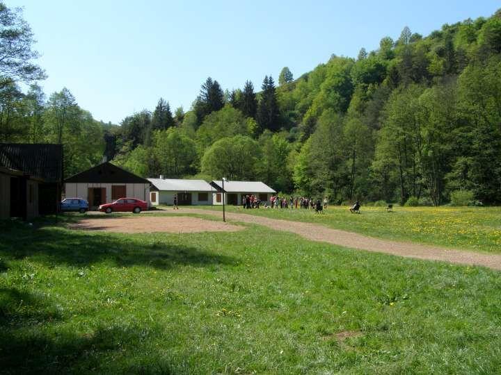 Táborová základna Zbirožský potok