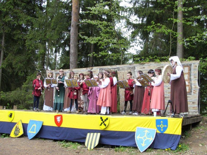 Hrad Vízmburk - Dětský den