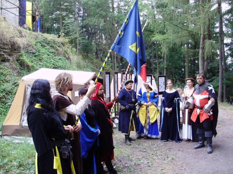 Hrad Vízmburk - Historický víkend