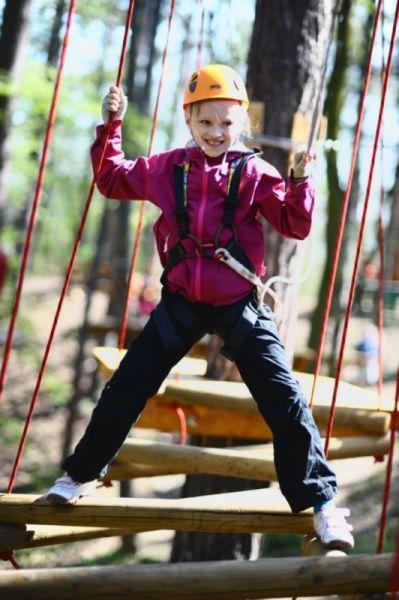 Jungle park Brno - Školní výlet v lanovém centru