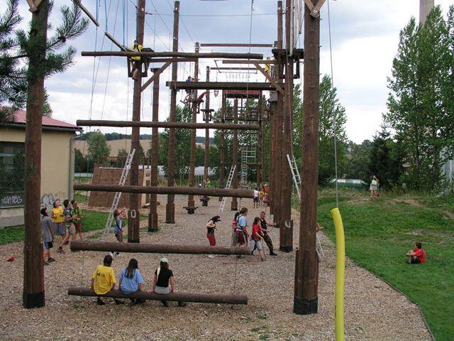 Lanový park SIESTA - Školní výlet