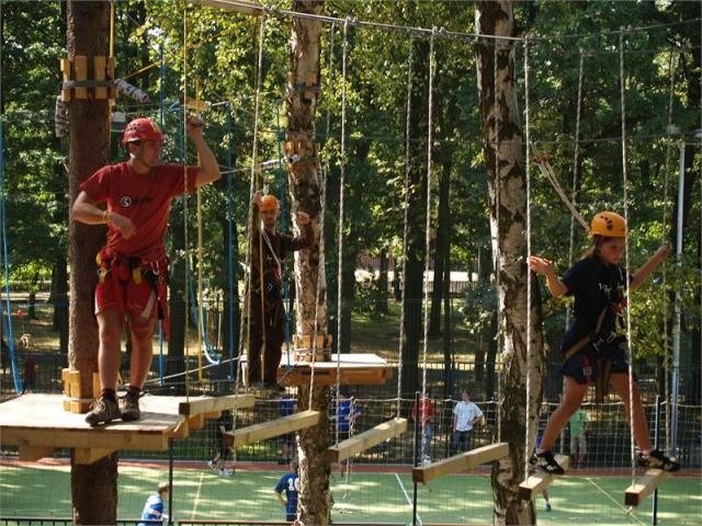 Lanový park Sambar - Program pro školní výlet
