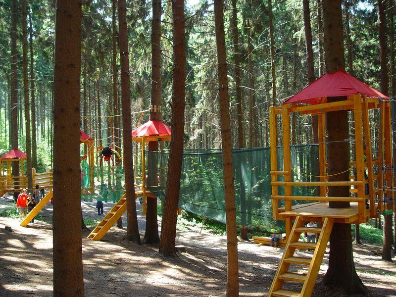 Lanové centrum PROUD - Lanáček v ZOO Olomouc