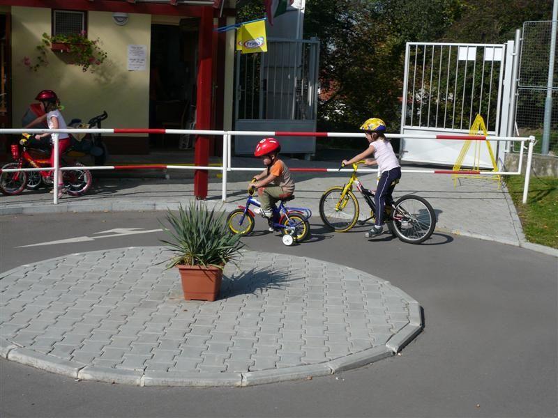 Dopravní hřiště pro děti - Praha