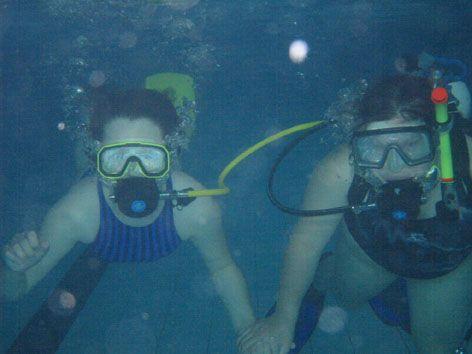 Aquapark Příbram - Potápění - klub ATOL