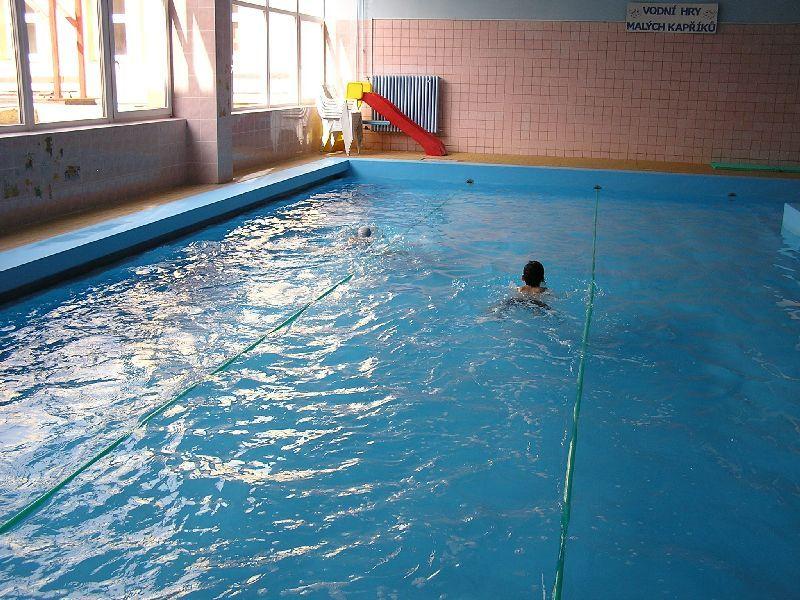 Plavecký bazén ZŠ Uherské Hradiště, Za Alejí