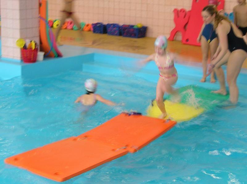 PŠ Uherské Hradiště - Plavání dětí v bazénu ZŠ Uherské Hradiště