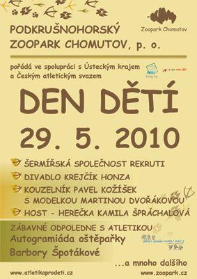Zoopark Chomutov - Den dětí