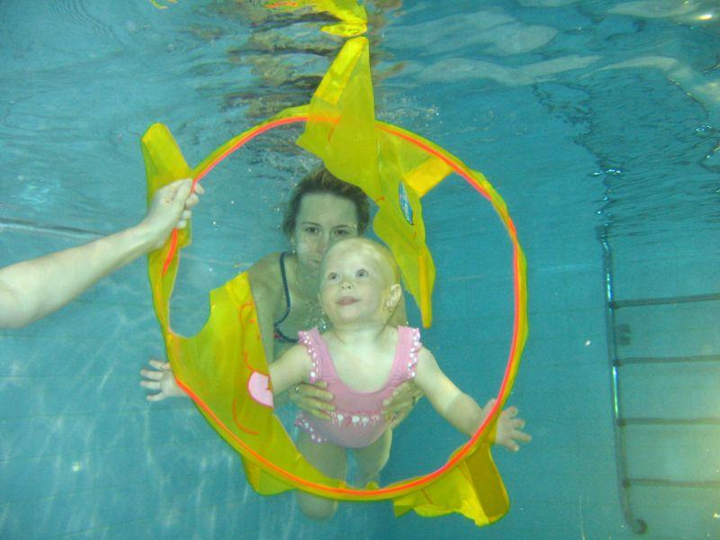 Rafťáček - Plavání dětí a rodičů v bazénu HP Energy Smíchov
