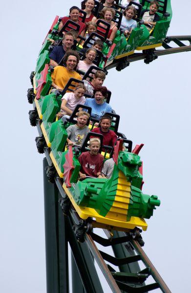 Legoland Německo - Horská dráha