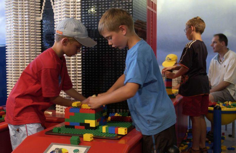 Legoland Německo - Testovací centrum