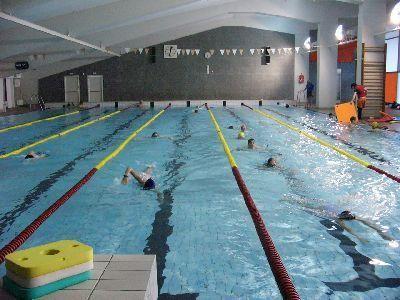 Krytý plavecký bazén Strahov Praha
