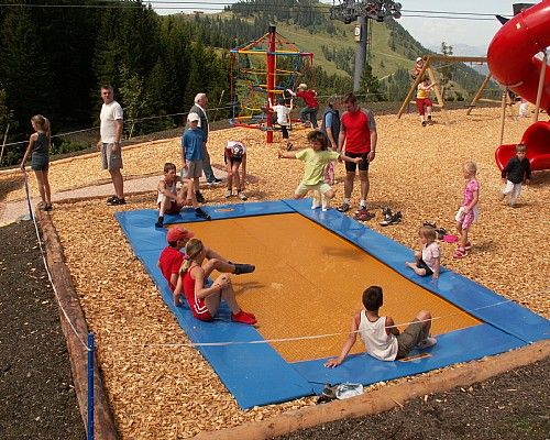 Dětský park žáby Ellmi - Ellmau Rakousko (Ellmi´s Zauberwelt)