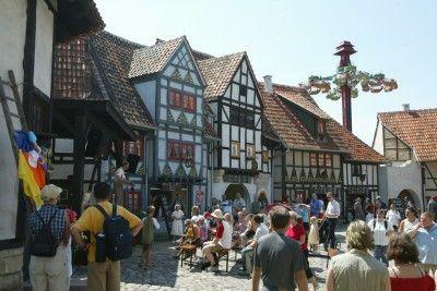 Zábavný park BELANTIS v Lipsku, Německo