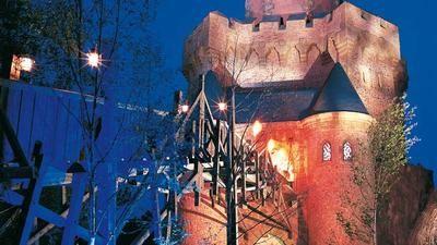 Phantasialand - zábavný park u Brül, Německo