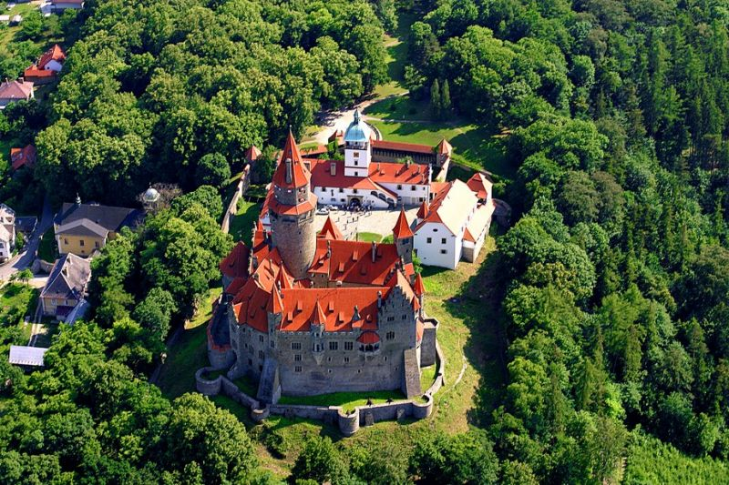 Hrad Bouzov - Jarmark a hradní karneval