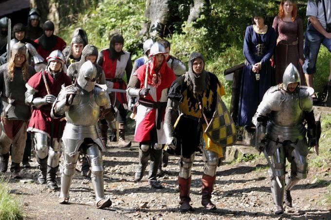 Hrad Hukvaldy - Středověký týden na hradě Hukvaldy