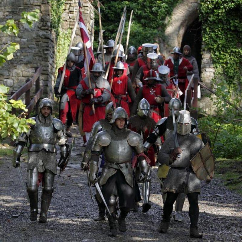 Hrad Hukvaldy - Hukvaldská revoluce - dobývání hradu