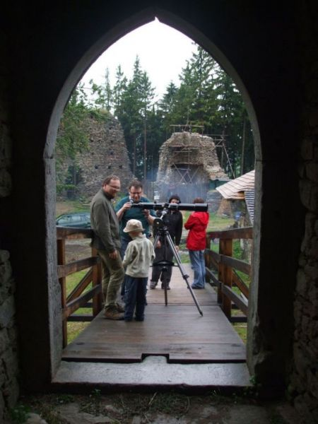 Hrad Orlík - Hvězdáři na hradě nejen pro děti