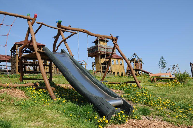 Šťastná země Radvánovice - dětský zábavný areál