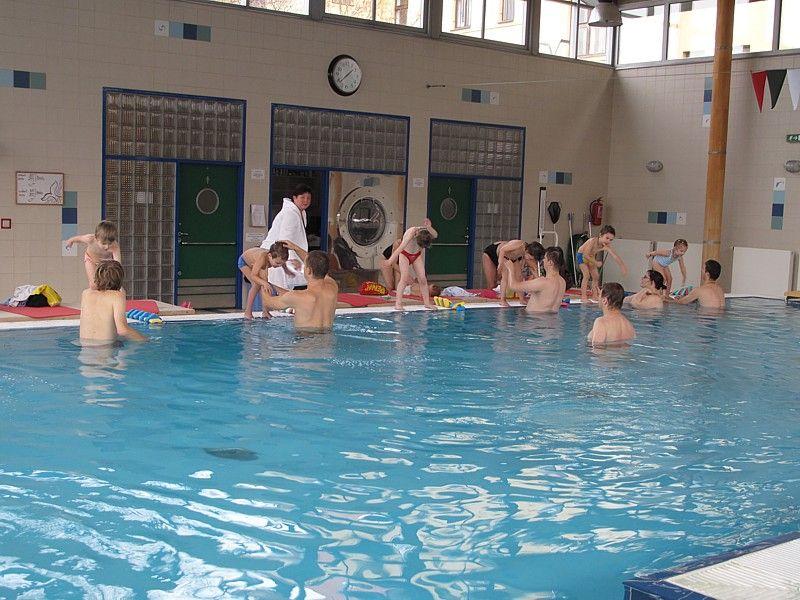 RC Amálka - Plavecký kurz v bazénu Jedličkova ústavu, Praha