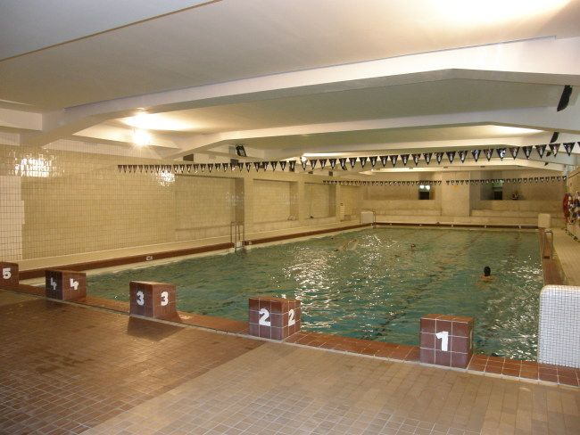 Club Junior - Plavání dětí v bazénu TJ Sokol Vinohrady