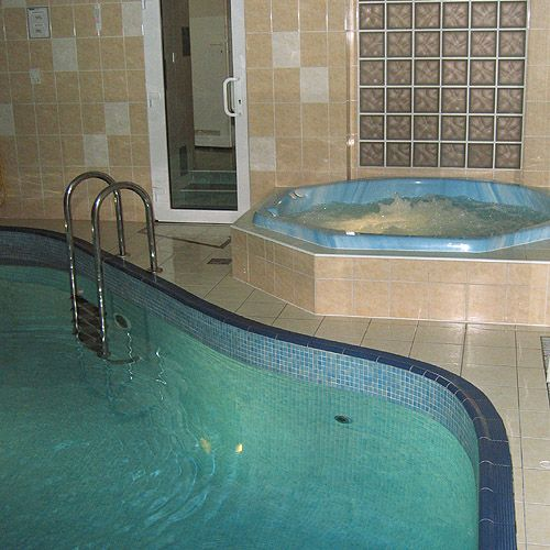 Club Junior - Plavání rodičů s dětmi v bazénu Sport Clubu, Pasáž u divadla, Praha
