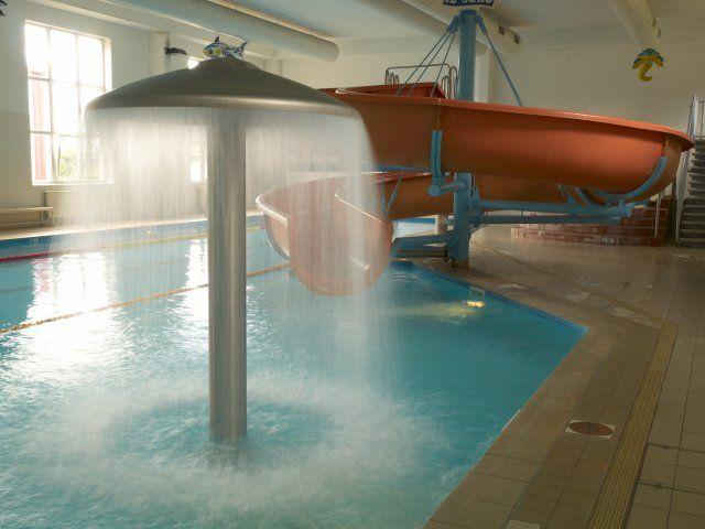 Plavecký bazén Přimda - Josef Langmajer