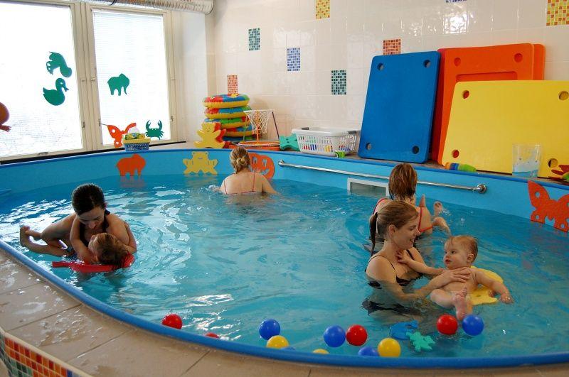 Baby club Terezka - Plavání rodičů s dětmi ve vlastním bazénu klubu Terezka, Praha