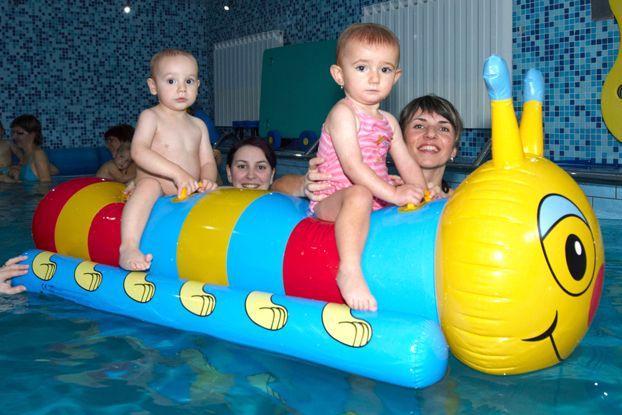 Pro Baby - Plavání kojenců a batolat ve vlastním bazénu klubu
