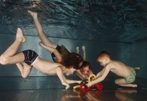 Studio Skokánek Dolní Břežany - Plavání dětí od 6. měsíce do 6 let v bazénu studia