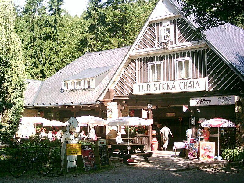 Turistická chata v Prachovských skálách