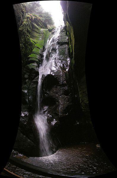 Adršpašské skály - Velký vodopád