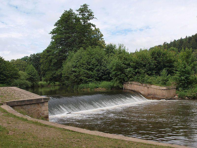Babiččino údolí - Viktorčin splav