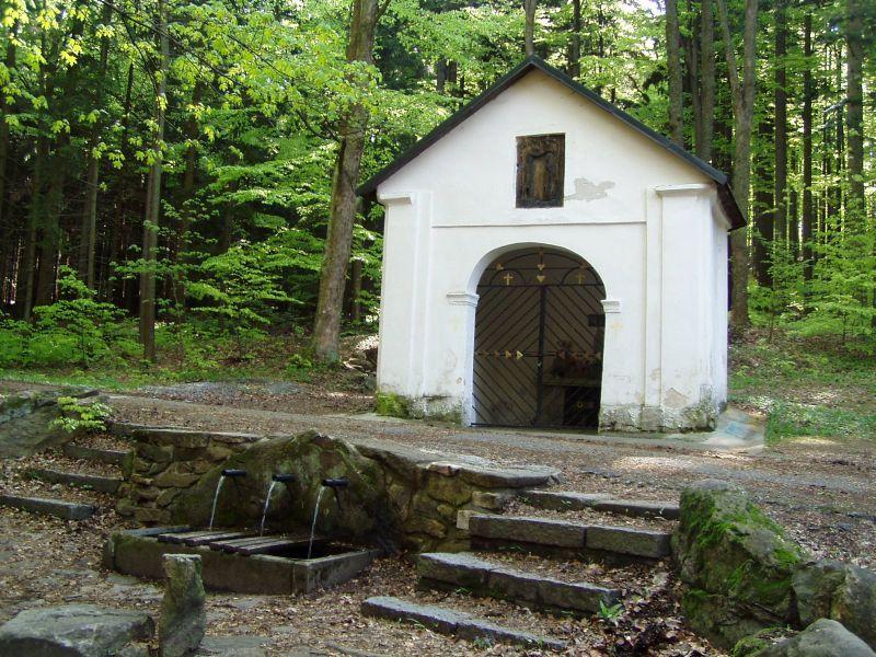 Křemešník - Kaple nad pramenem