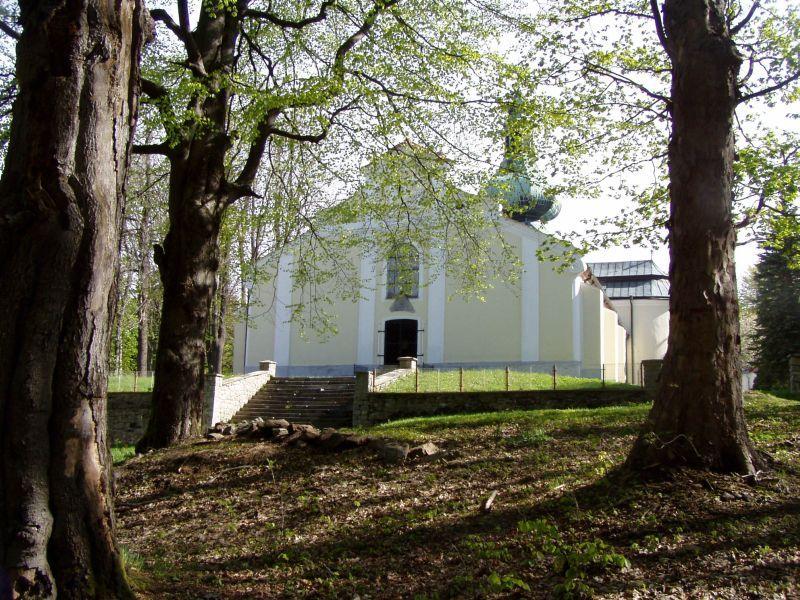 Křemešník - poutní kostel