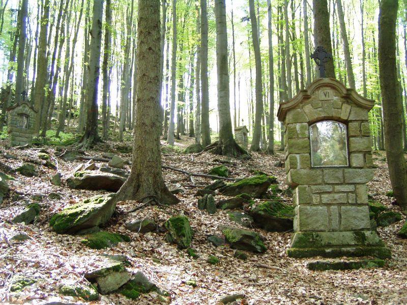 Křemešník - Křížová cesta