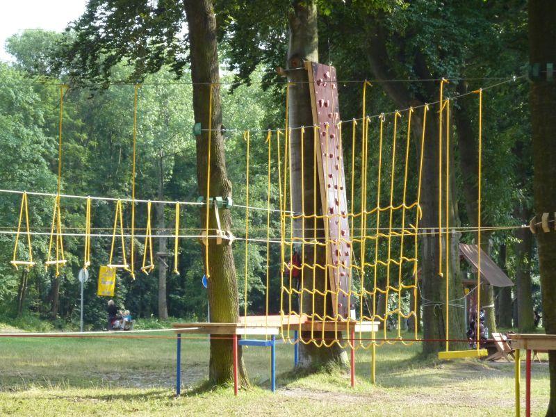 Lanový park - OFFPARK Sušice - dětská trasa