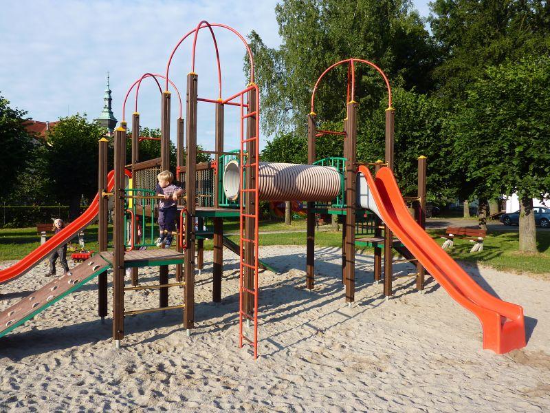 Lanový park - OFFPARK Sušice - dětské hřiště v těsné blískosti