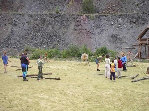 Keltský skanzen ISARNO - Den lukostřelby