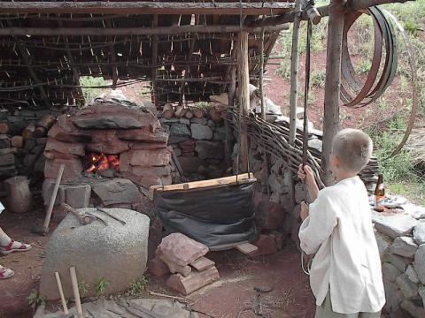 Keltský skanzen ISARNO - Den kopí