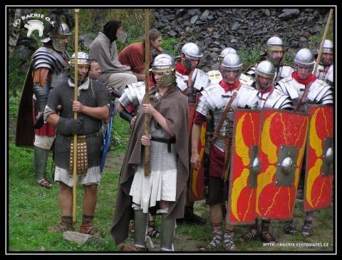 Keltský skanzen ISARNO - Keltsko - římská bitva