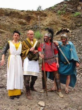 Keltský skanzen ISARNO - Divadelní den