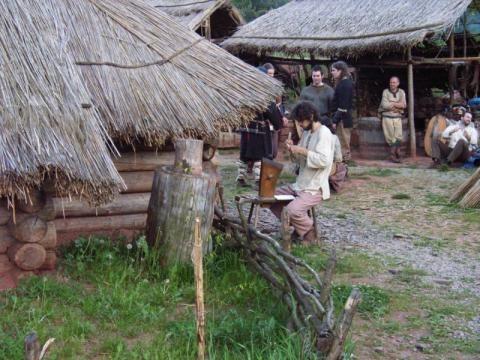 Keltský skanzen ISARNO - Barbarské hody