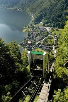 Salzwelten Hallstatt - Solný důl Hallstatt Rakousko